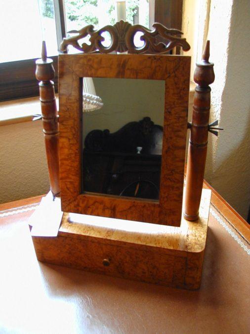 Tischspiegel Kippspiegel aus Birke