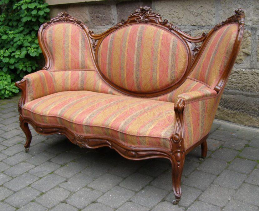 Sofa Louis-Philippe Deutschland um 1850 Mahagoni