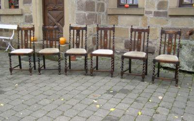 6 Esstisch Stühle
