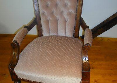 Viktorianischer Sessel aus Nussbaum