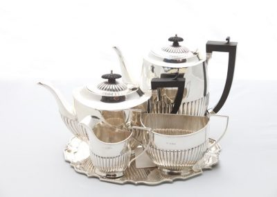 Kaffee / Teeservice Silber