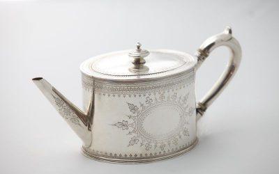 Teekanne London 1869
