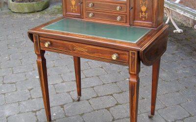 Schreibtisch viktorianisch ca. 1880 aus Palisander